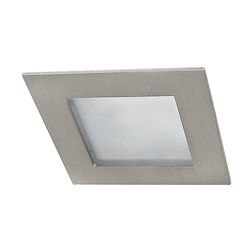 Luminario de empotrar cuadrado fijo LED