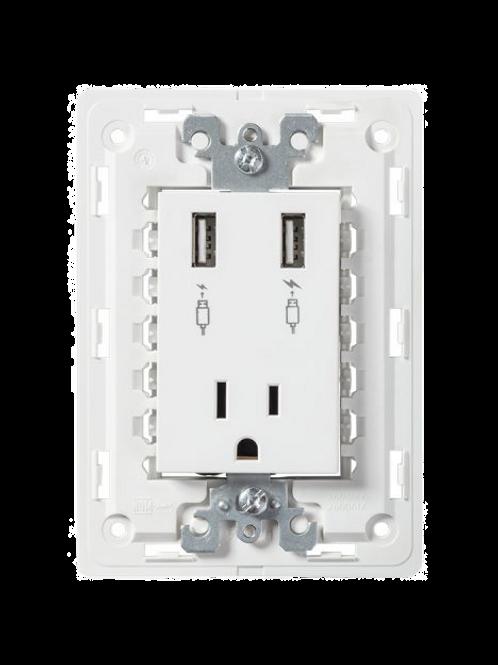 Contacto con cargadores USB Simon 26