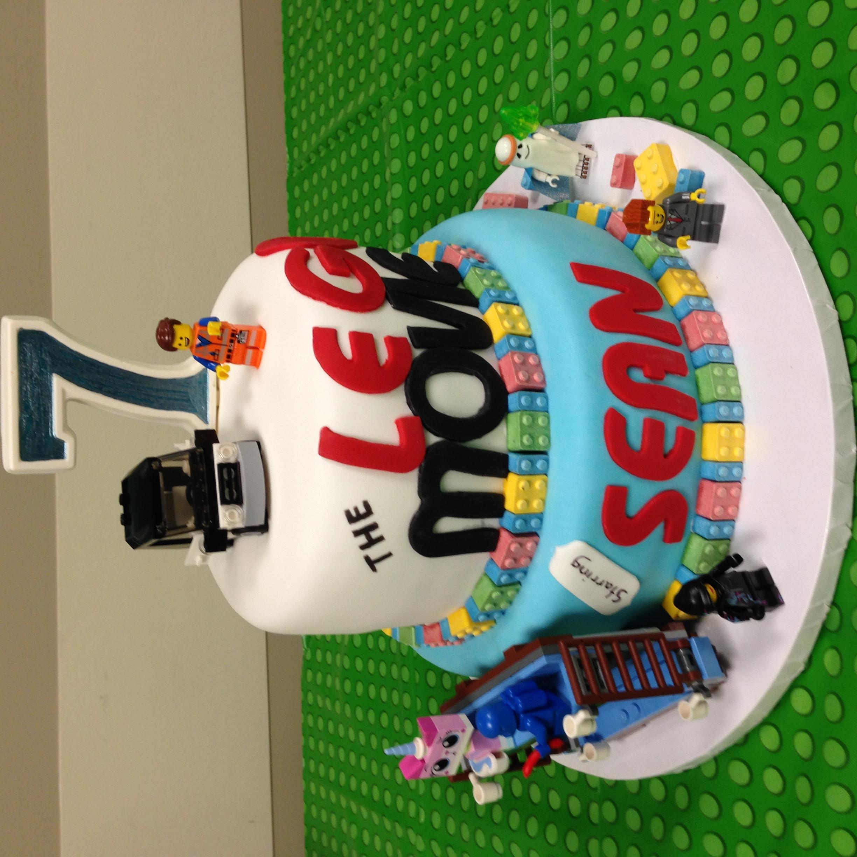 """""""Lego Movie"""" cake"""