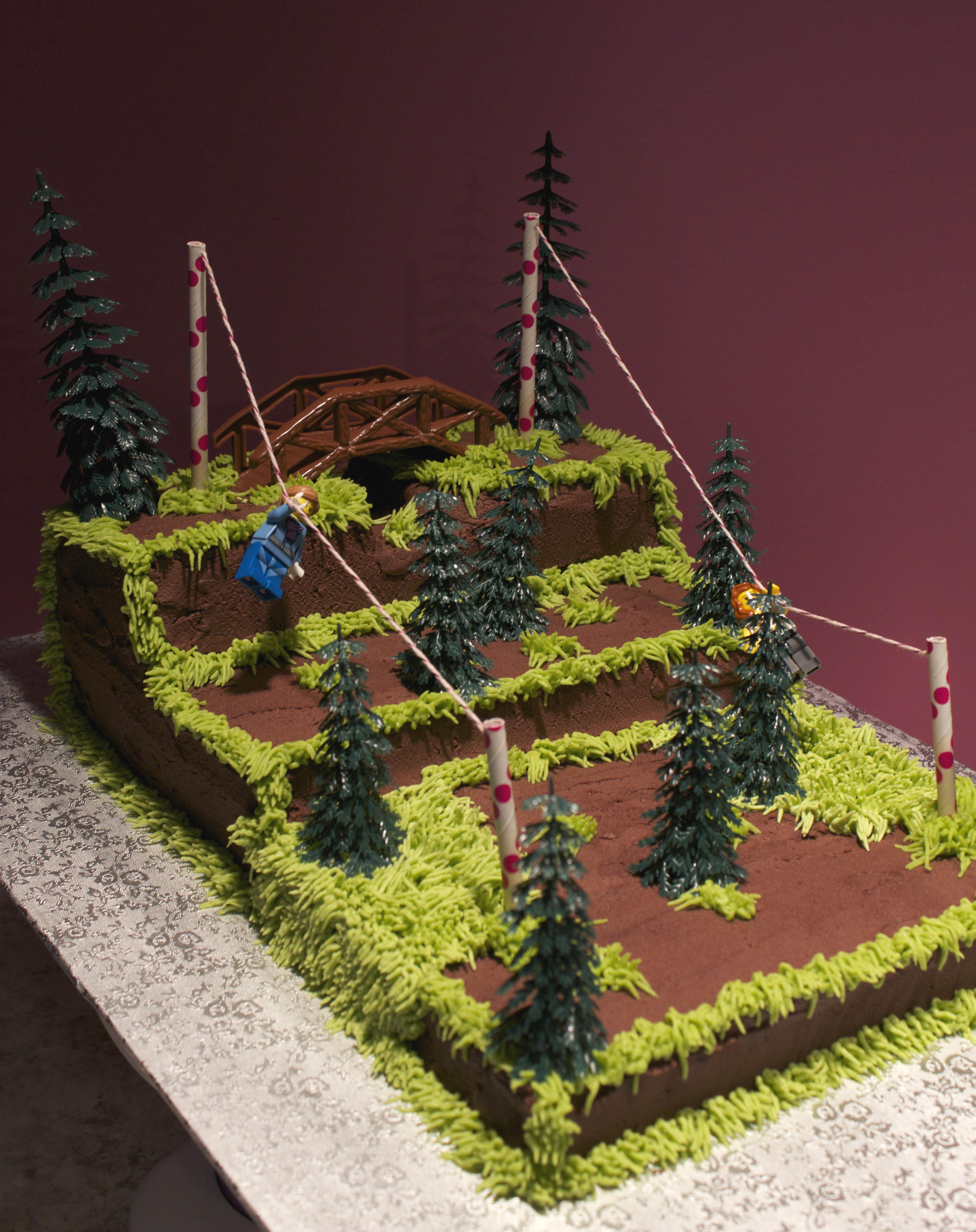 Zipline cake