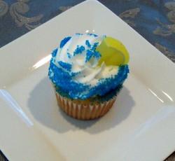 Lemon margherita cupcake