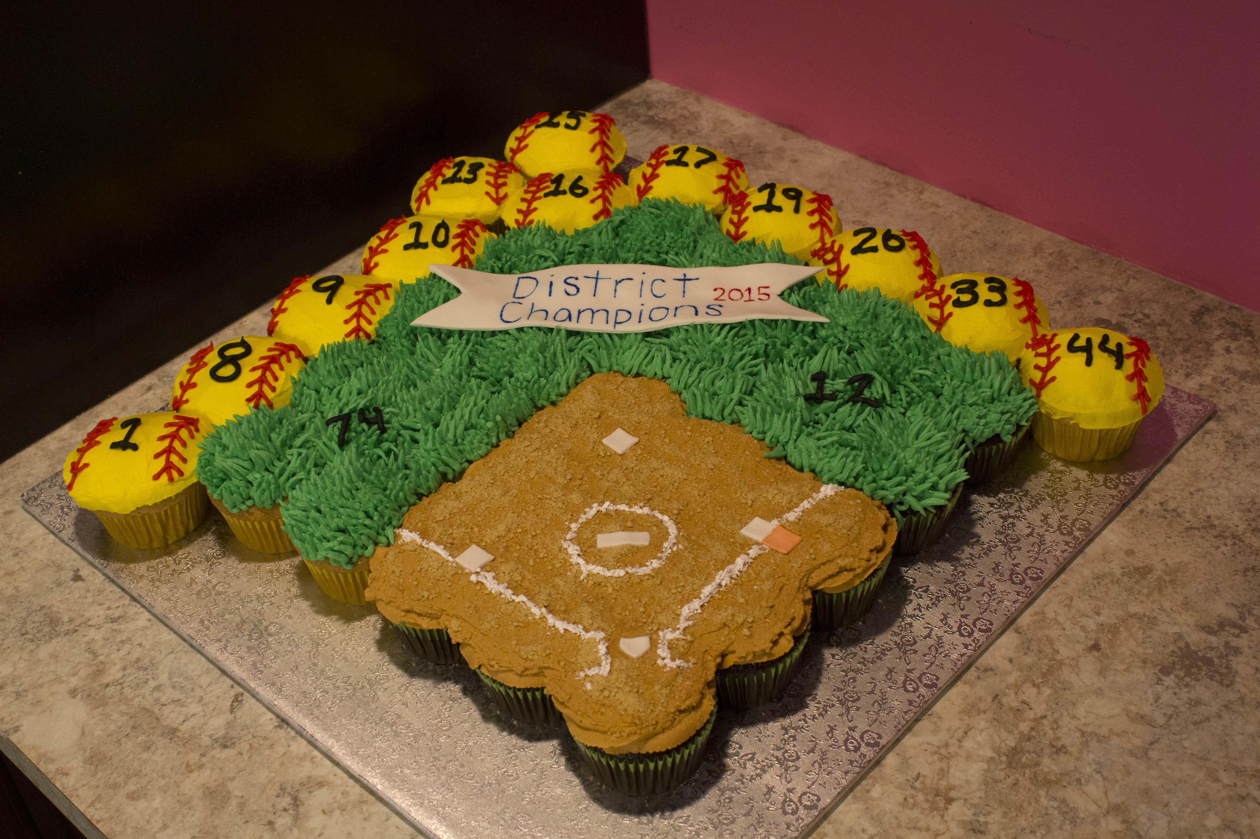 Softball Celebration Cake