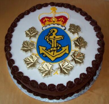 Navy Admiral cake