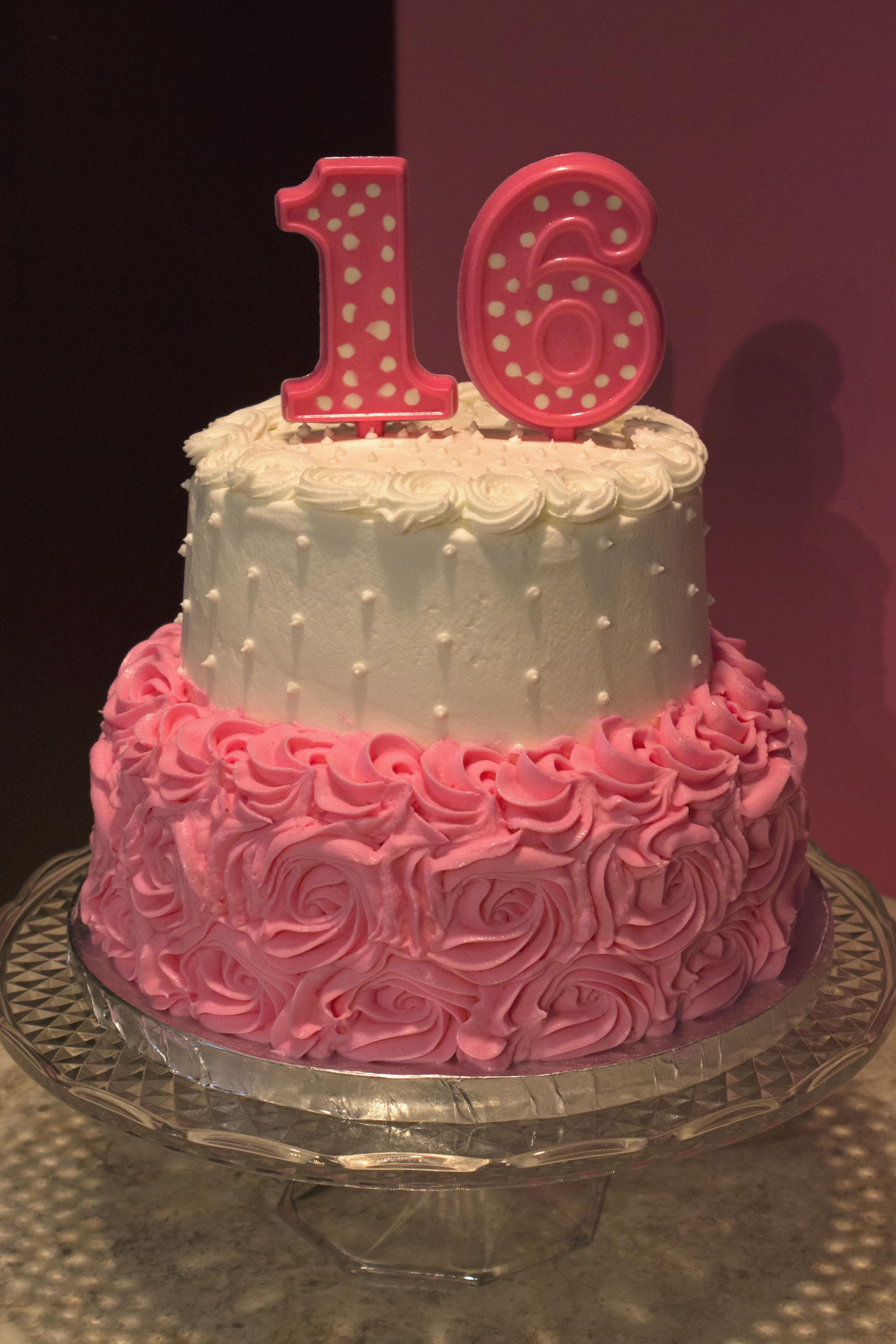 Pink Sweet 16
