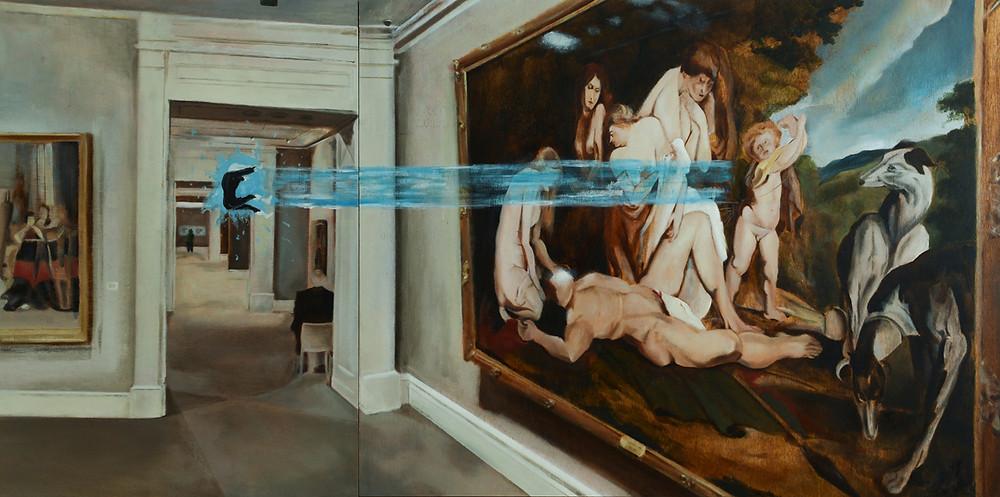 Interpretation to Rubens II, Yonatan Ron