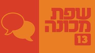שפת מכונה | טור 13