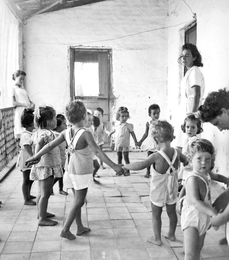בית הילדים בקיבוץ גשר, שנות הארבעים