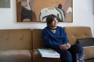 הדקדוק של הציור | ביקור בסטודיו של ליליאן קלאפיש