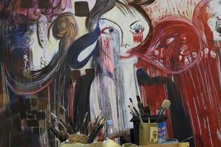 ביקור בסטודיו של האמנית רקפת וינר עומר