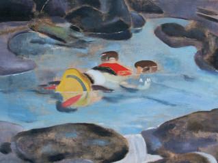 """על """"מדוזה"""", תערוכתו של יונתן רון בגלריה ברבור"""