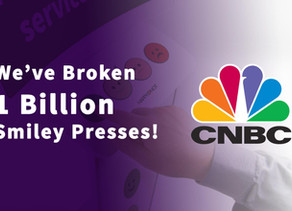 1 Billion Smiley Presses!