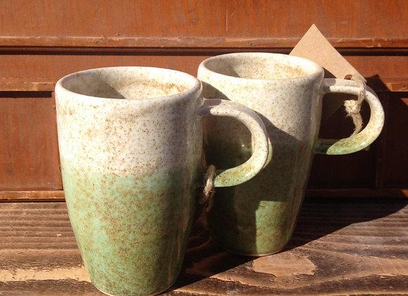 tall sea foam mug