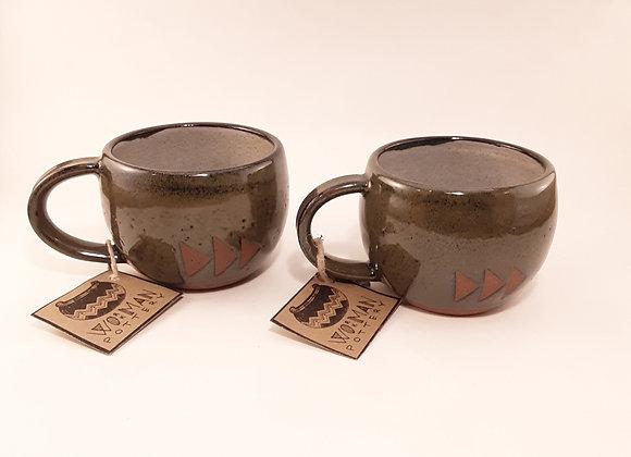 3 triangle mug