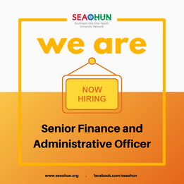 We are hiring! Senior Finance and Administrative Officer