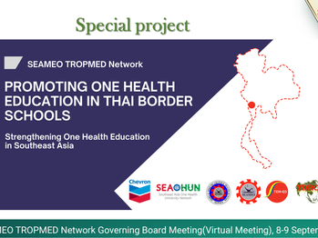 SEAMEO TROPMED Network Presented its New Project during Annual Governing Board Meeting (GBM)