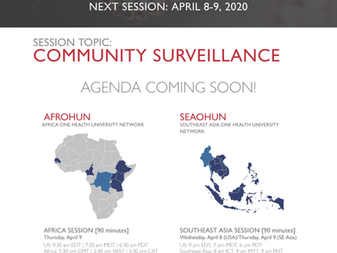 Save-The-Date: One Health Updates on Community Surveillance