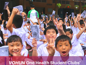 VOHUN One Health Student Club : Communication Activity 2019