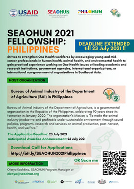 Call for Applications: SEAOHUN 2021 Fellowship in the Philippines
