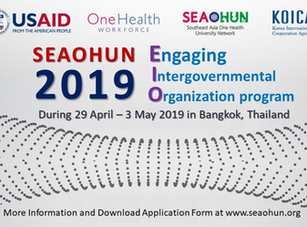 SEAOHUN 2019 Engaging Intergovernmental Organization