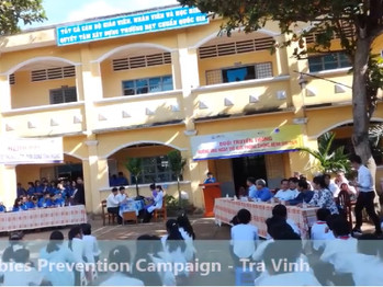 The communication campaign to prevent rabies for OHSC  by VOHUN