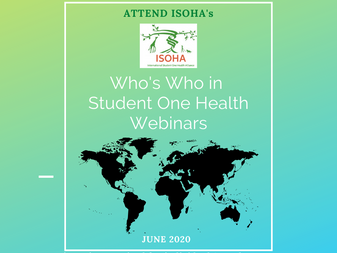 Who's Who Student in One Health Webinars