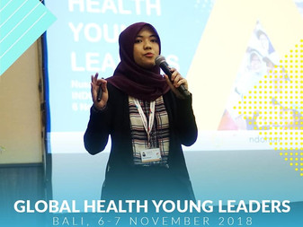 INDOHUN organized one of the side events, Global Health Young Leaders