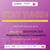 STAY TUNED!! Regional Students Competition webinar