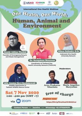 Webinar: One Health, One World: Human, Animal, And Environment