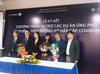 VINGROUP Innovation Fund to Fight Against Covid-19