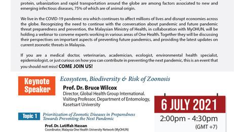MyOHUN Webinar: Preventing the Next Zoonotic Pandemic