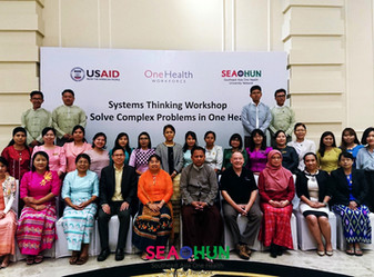 SEAOHUN 2019 Systems Thinking Workshop in Myanmar