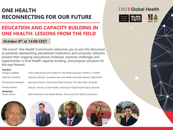 Lancet Commission Webinar: One Health Education