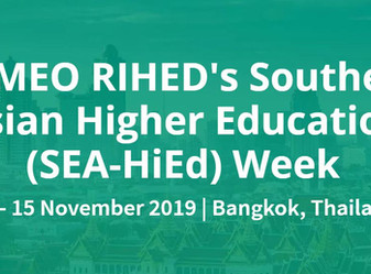 Call for Papers: RIHED SEA-HiEd         Inter-Regional Research Symposium