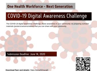 One Health Workforce - Next Generation COVID-19 Digital Awareness Challenge