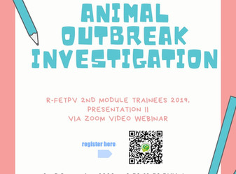 Webinar on Animal Outbreak Investigation presentation II