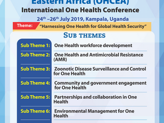 Call for abstracts: 3rd OHCEA International One Health Conference