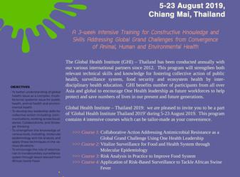 Global Health Institute Thailand 2019