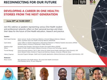 Lancet Webinar: Developing a Career in One Health