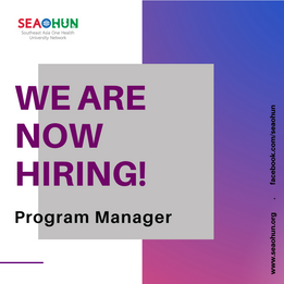 SEAOHUN Job vacancy : Program Manager