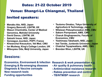 One Health Conference & meeting in Chiang Mai, Thailand