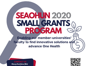 EXTENSION! CALL FOR APPLICATIONS: SEAOHUN 2020 Small Grants