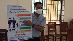 Rabies Awareness Training in Communities in Cambodia