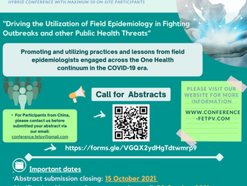 The 1st Asia Pacific Regional Coordination and Scientific Conference for Field Epidemiology Training