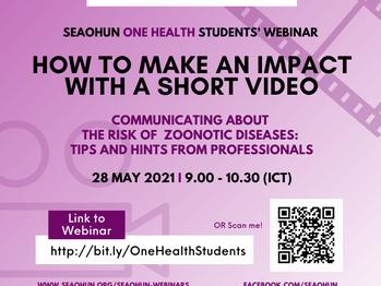 SEAOHUN One Health Students' Webinar