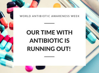 WHY ANTIBIOTIC MICROBIAL RESISTANCE IS THE BIGGEST THREAT TO GLOBAL HEALTH