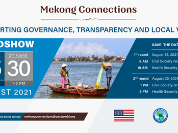 Mekong Policy Fellowships and Grants for civil society organisations through Mekong Connections