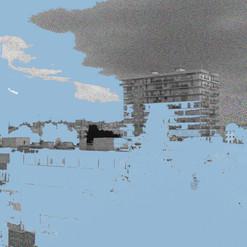 Créteil - 30x40 cm - tirage numérique sur papier Hahnemühle Photo Rag 308 g 100 % coton