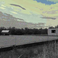 Champs - 30x40 cm - tirage numérique sur papier Hahnemühle Photo Rag 308 g 100 %coton