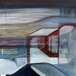Autre part, acrylique sur toile, 70x50 cm,2020