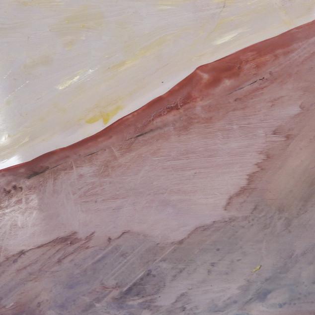 Horizon 2, aquarelle sur papier photo argentique A5